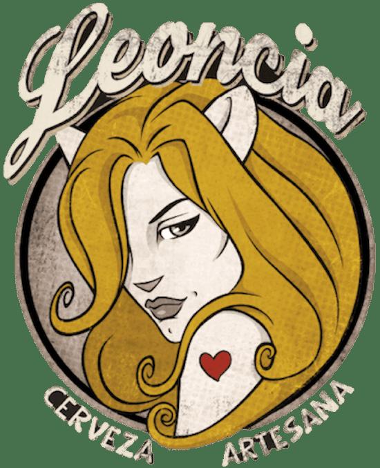 Logo de la fábrica de cervezas artesanas Leoncia.
