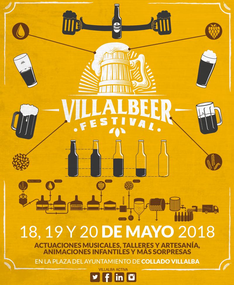 Logo de la Feria de Cervezas artesanas de Vilalba Villalbeer 2018