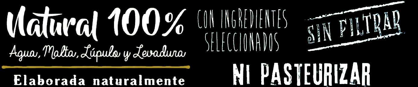 Cervezas artesanas Leoncia, 100% naturales, elaboradas de forma artesanal con ingredientes escogidos, sin filtrar ni pasteurizar.