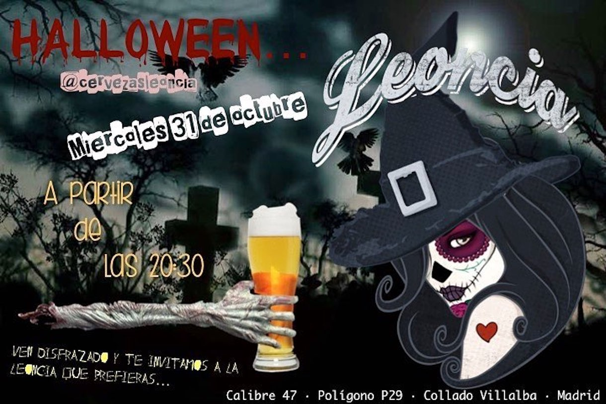 Ven a celebrar la fiesta de Halloween tomando las mejores cervezas artesanas de Madrid