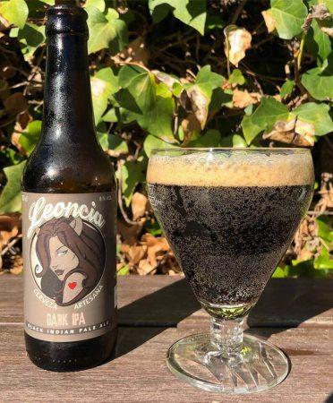 Imagen de la cerveza artesana Leoncia Dark Ipa, indian Pale Ale edición limitada