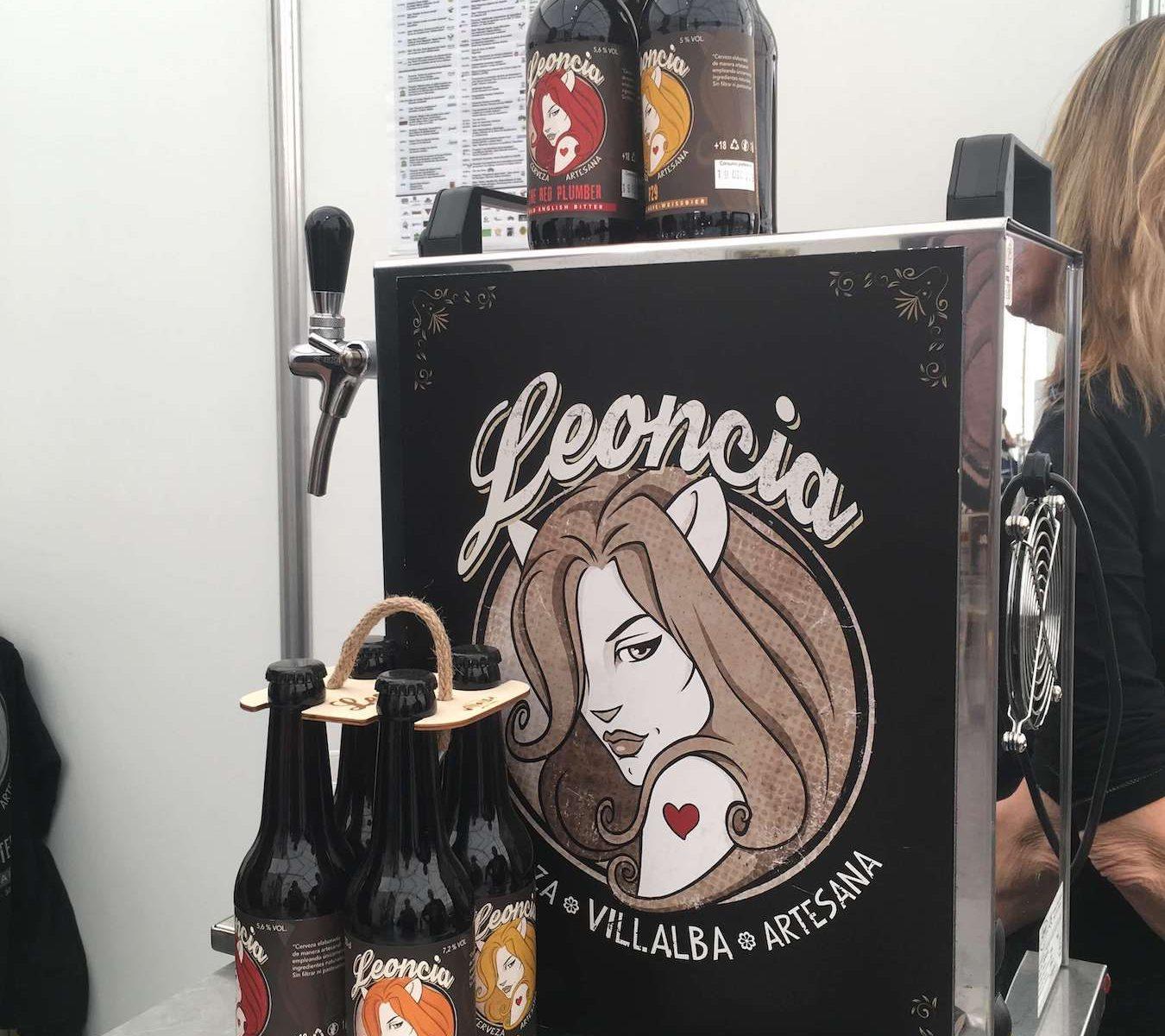 Cervezas artesanas Leoncia en Vive_la_Sierra_2019_3