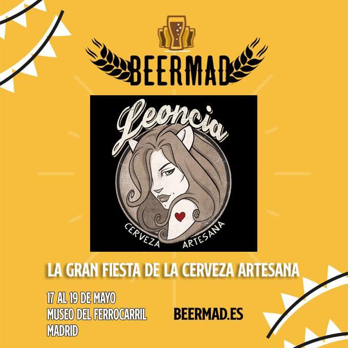 Beermad 2019, Feria de la Cerveza artesana de Madrid, 17 a 19 de mayo