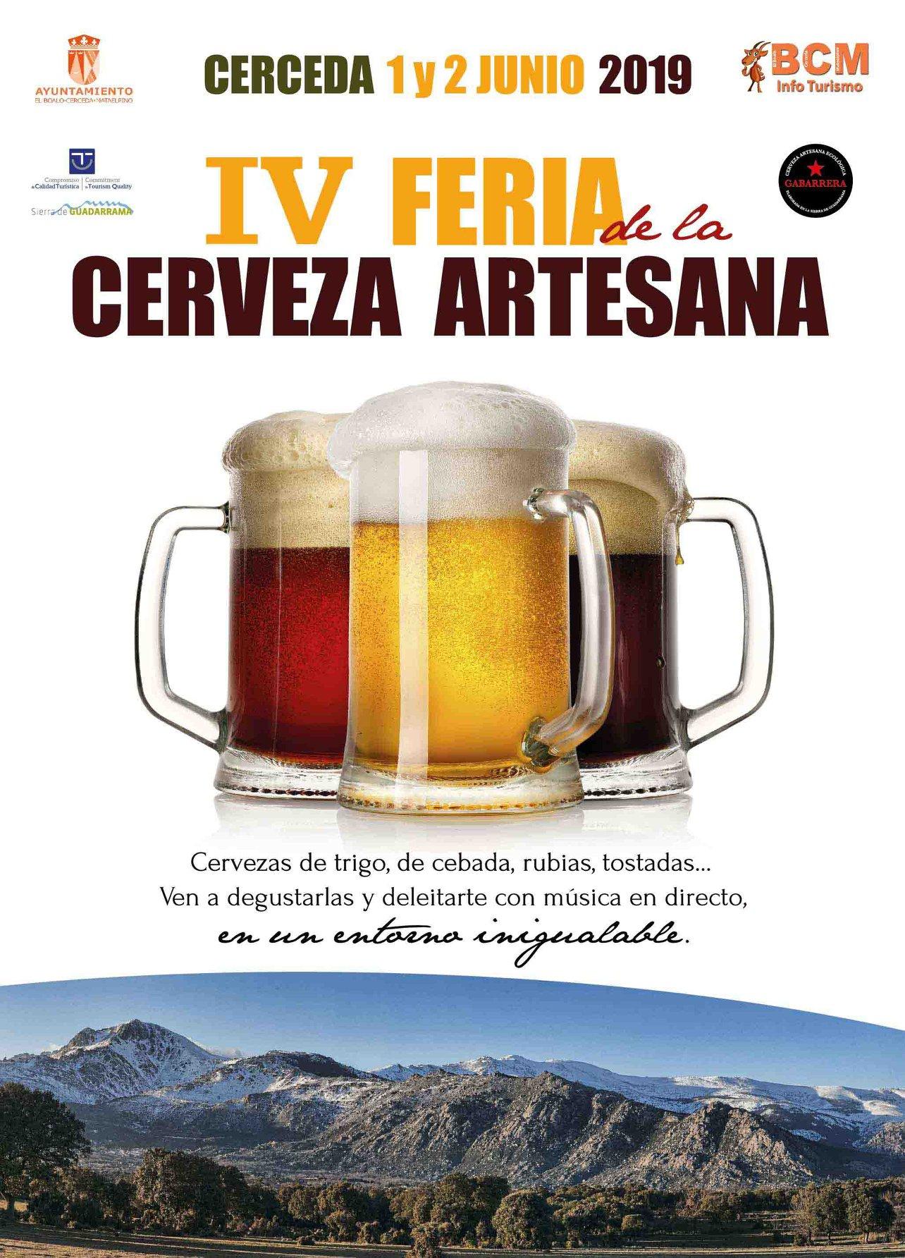 Cervezas Leoncia estará en la Feria de la Cerveza artesana de Cerceda 2019