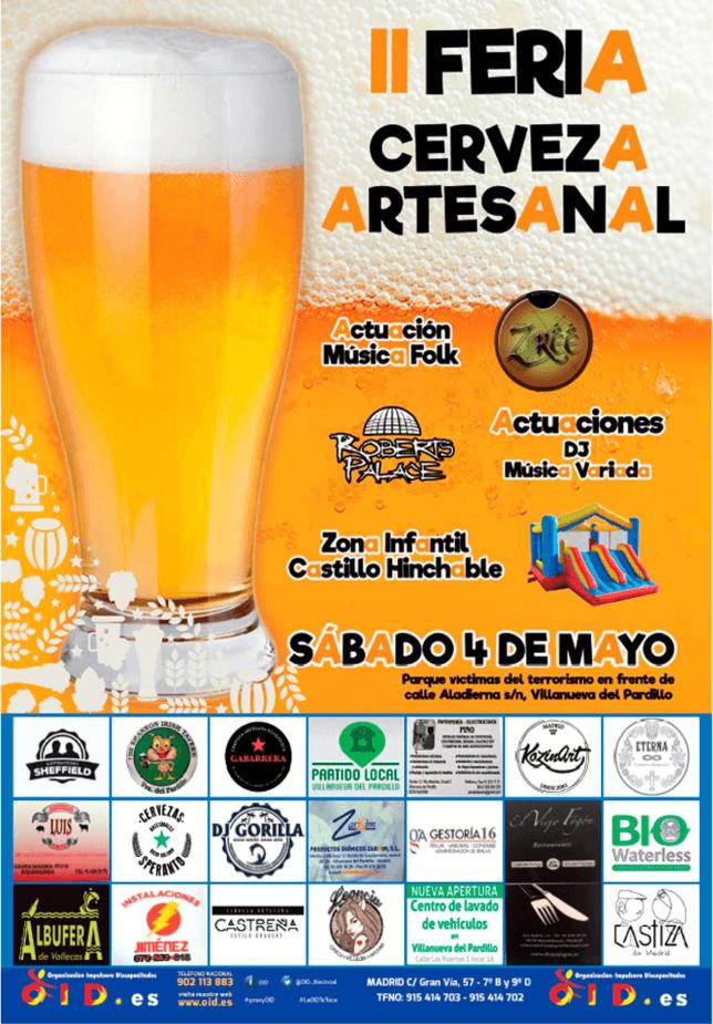 II Feria de la Cerveza Artesanal de Villanueva del Pardillo