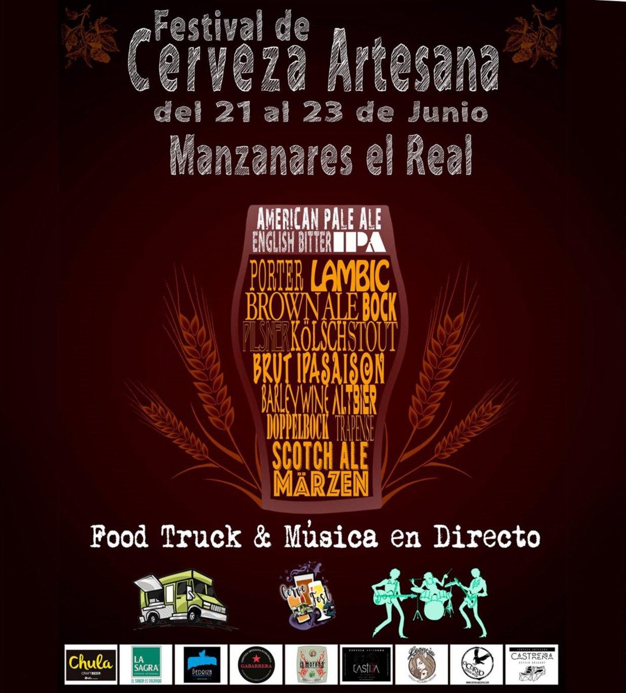Festival de Cerveza Artesana de Manzanares El Real 2019