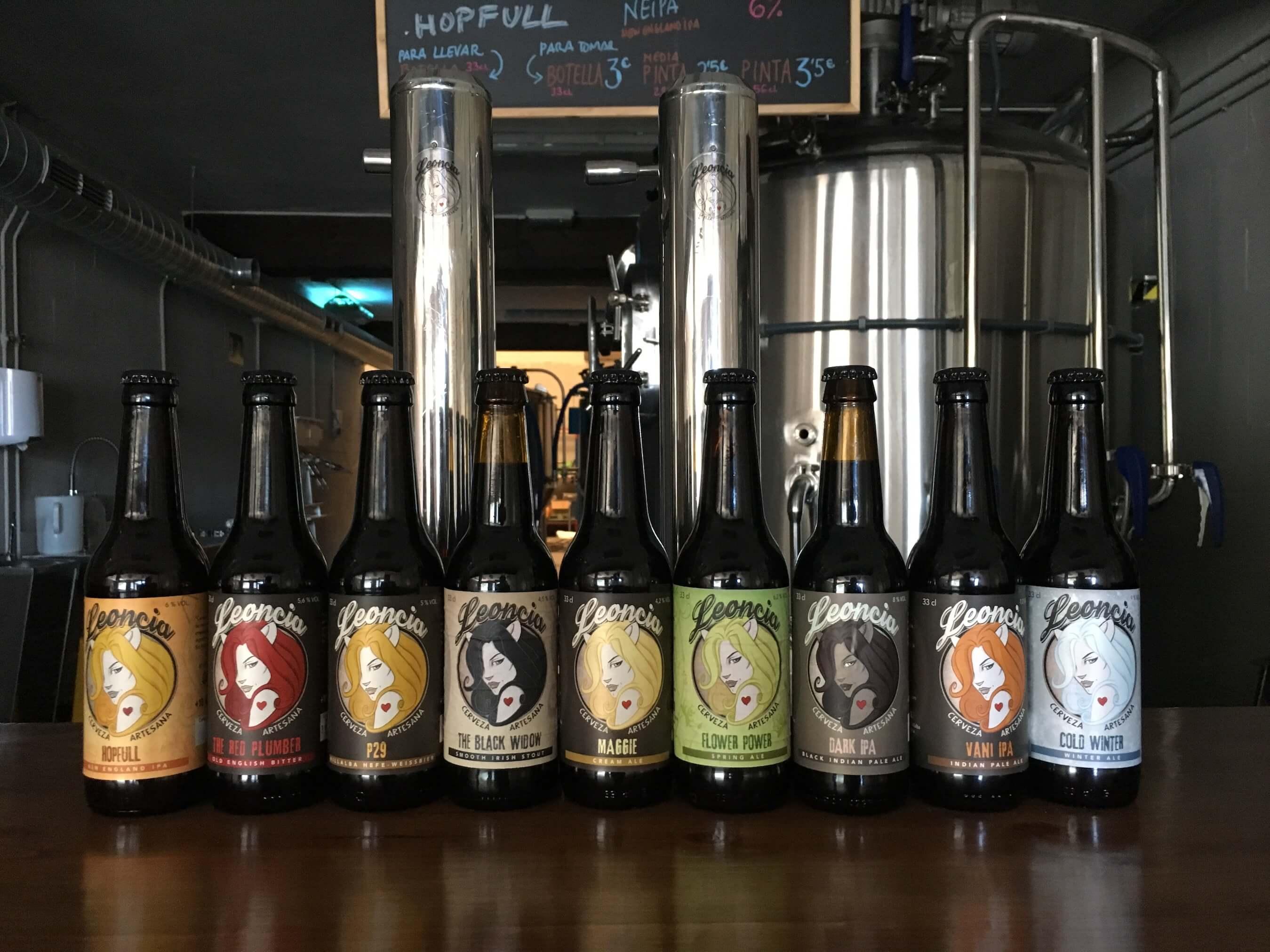 Fábrica de Cervezas Artesanas Leoncia