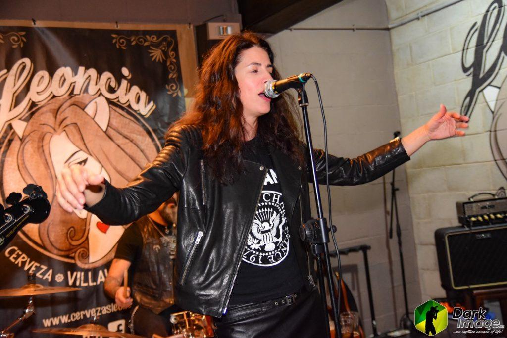 """""""Amparrock y Los Torpedos Nucleares"""" en el concierto Noches de Soul & Beer / 8.11.2019/ Foto Dark Image"""