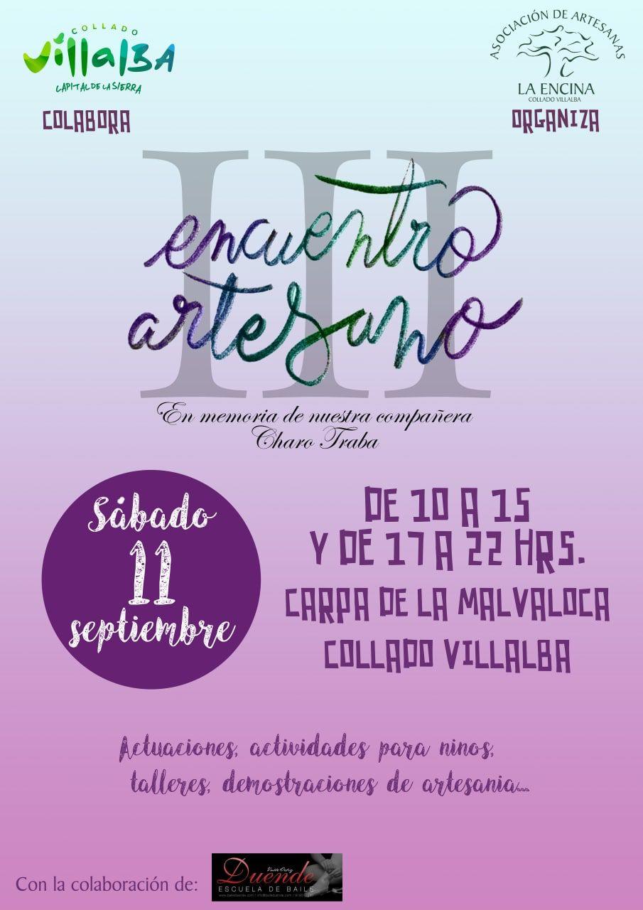 Encuentro artesano en Collado Villalba